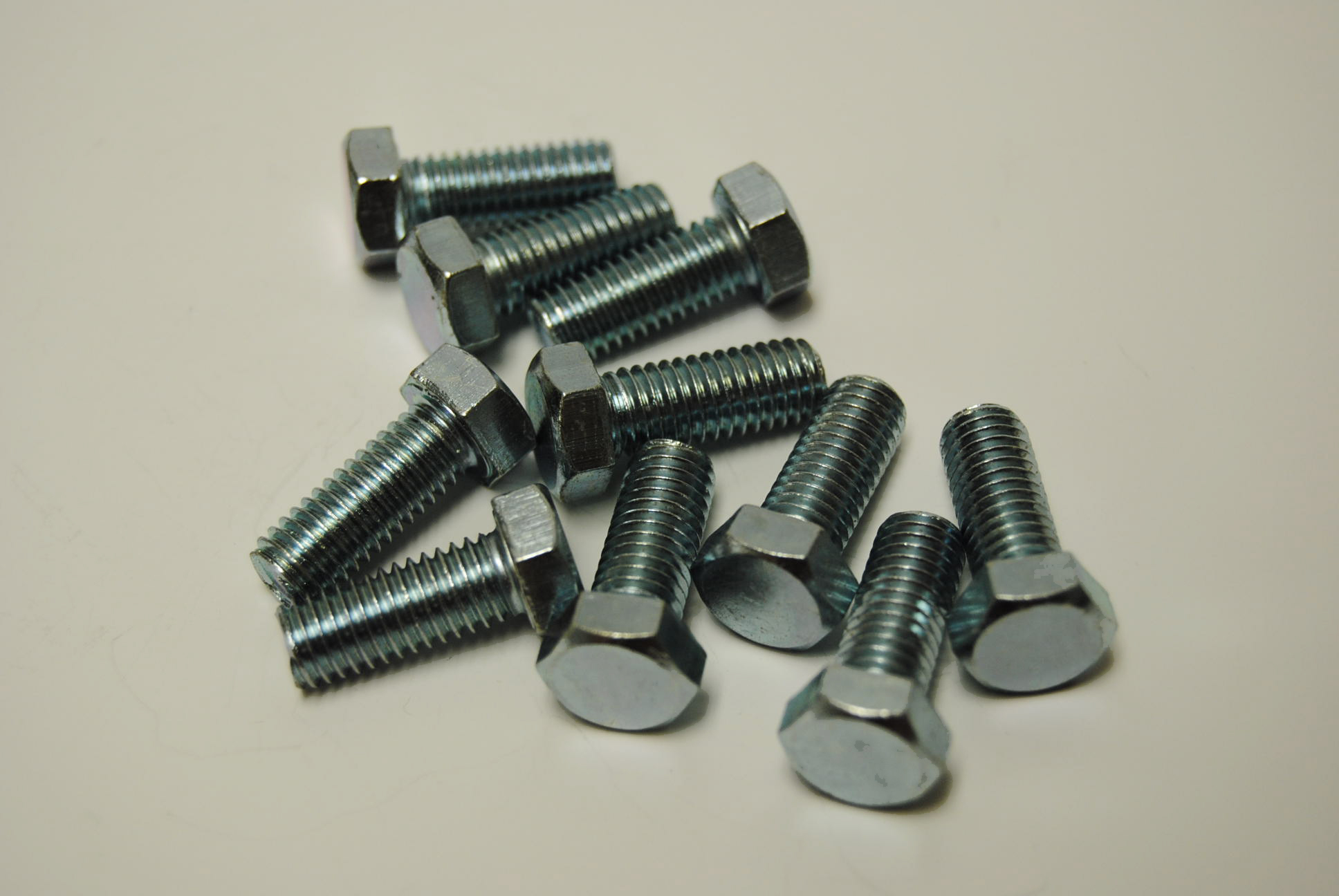 8mm x 20mm Hex Head Bolts - ISO