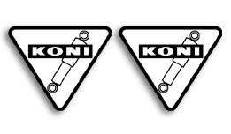 KONI Shock Decals