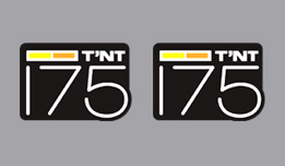 Can-Am T'NT 175 1973-1976- Side Cover Decals