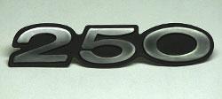 Kawasaki 1974 S1B Side Panel Badge