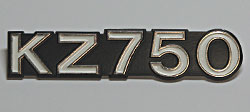 Kawasaki KZ750 1980-E1, 1981-E2, 1983-E3 Side Panel Badge