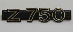 Kawasaki Z750 1980-E1, 1981-E2, 1983-E3 Side Panel Badge