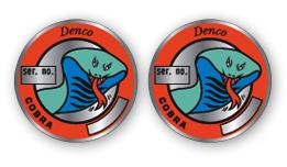 Denco Cobra- Cylinder Head Decals