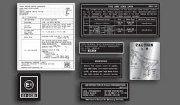 AR80 A1 1981-1982 USA Warning & Service Decal Set