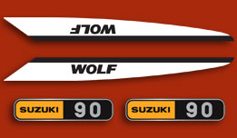 T90 Wolf 1969 Complete Decal Set