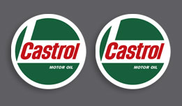 Castrol 1970's Decals