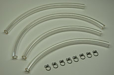 Kawasaki H2 Fuel Line Kit - Clear