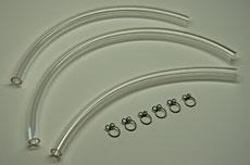 Kawasaki S2 Fuel Line Kit - Clear
