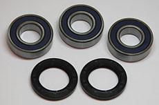 Kawasaki KH400 & Honda ATC70 Wheel Bearing - Seal Kit Rear