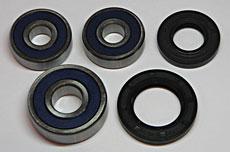 Yamaha RZ350 Wheel Bearing - Seal Kit Rear