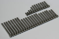 Yamaha DT & RT Stainless Steel Bolt Set