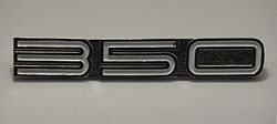 Yamaha 1970-1972 R5 350 Side Panel Badge
