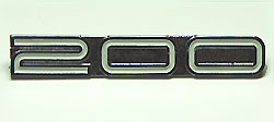 Yamaha 1972-1973 CS5 200 & 1974 RD200 Side Panel Badge