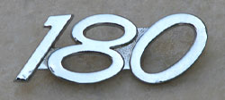 Yamaha 1967-1969 YCS1 & CS2E 180 Side Panel Badge