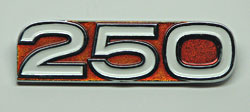 Yamaha 1972-1973 DT2 & DT3 Side Panel Badge