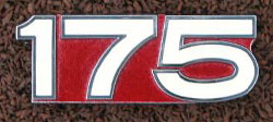 Yamaha 1972 CT175 & CT2 J Side Panel Badge