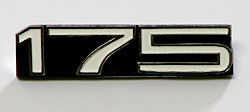 Yamaha 1973 CT3 Side Panel Badge