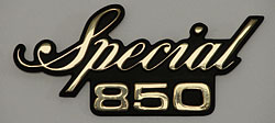 Yamaha 1980 Special XS850G Side Panel Badge