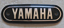 Yamaha 1967-1971 AT1, AT2, JT1, JT2, CS2E, CT1, CT1C Fuel Tank Badge
