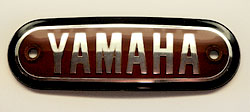 Yamaha - Various models including AT1, JT1, CT1 Fuel Tank Badge