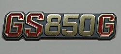 Suzuki 1980-1981 GS850G Side Panel Badge