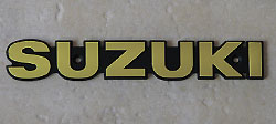 Suzuki 1977-1980 GS400, GS550, GS750, GS850, GS1000, GS1100 Fuel Tank Badge