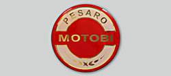 Benelli Pesaro Motobi Tornado 650 1971-1972 Fuel Tank Badge