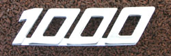 Laverda 1000 Side Panel Badge