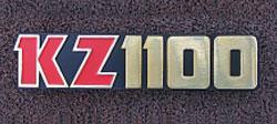 Kawasaki KZ1100 Side Panel Badge