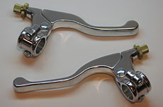 Clutch & Brake Lever Assembly - Polished