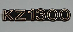 Kawasaki KZ1300 A1-A4 1979-1982 Side Panel Badge