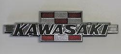 Kawasaki Tank Badge for GA 100cc Series GA1-A, GA2-A 1971-1974