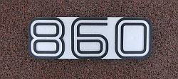 Ducati 860 GT 1974 & 1975 Side Panel Badge