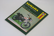 Haynes Repair Manual - Yamaha TT500, XT500 & SR500
