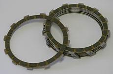 Kawasaki & Honda Clutch Friction Plate - Set of 7