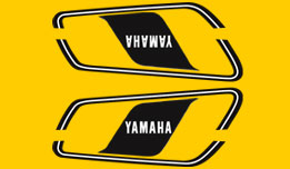 DT125E 1978- Gas Tank Decal Set
