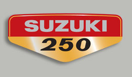 TS250 1969- Side Panel Decal