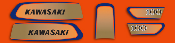 G3TRA 1971 Complete Decal Set