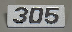 Yamaha 1966-1967 YM1 & YM1C Side Panel Badge