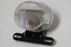Kawasaki Z1 Tail Light Assembly - Clear Lens