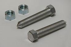 Kawasaki Z1, KZ, H2B/C Chain Adjuster - 10mm Bolts & Nuts