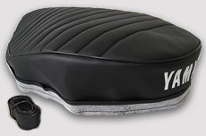 Yamaha RT2, RT3, DT2 & DT3 1972-1973 Seat Cover- Long Dual Seat for Europe