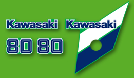 KX80 1986 Complete Decal Set