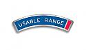Usable Range Decal - H1